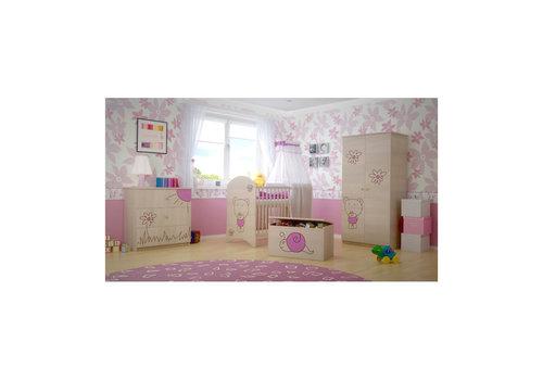Babykamer Beertje Roze