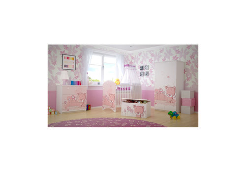 Babykamer Roze Beertje