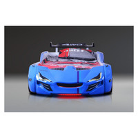 thumb-Autobed - Racebed Street racer GT1 - blauw-2