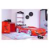 Autobed - Racebed Street racer GT1 - rood