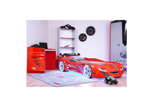 Autobed - Racebed Street racer GT1 - rood
