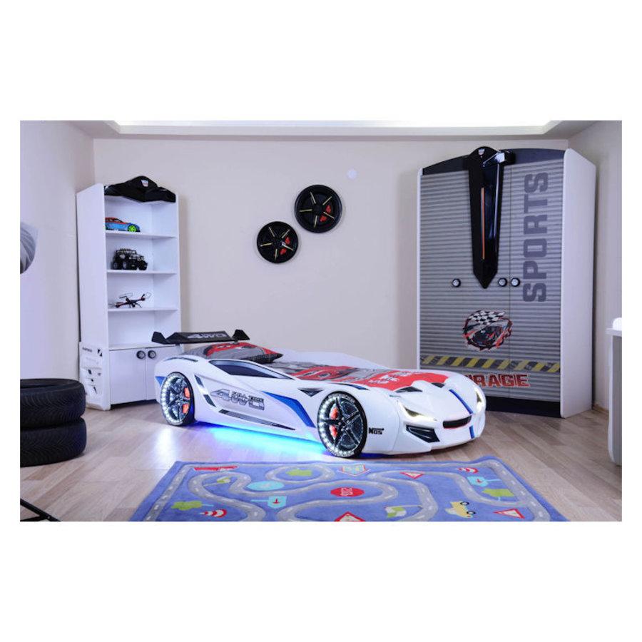 Autobed - Racebed Street racer GT1 - wit-1
