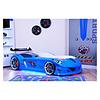 Autobed - Raceauto bed Drag Racing - blauw