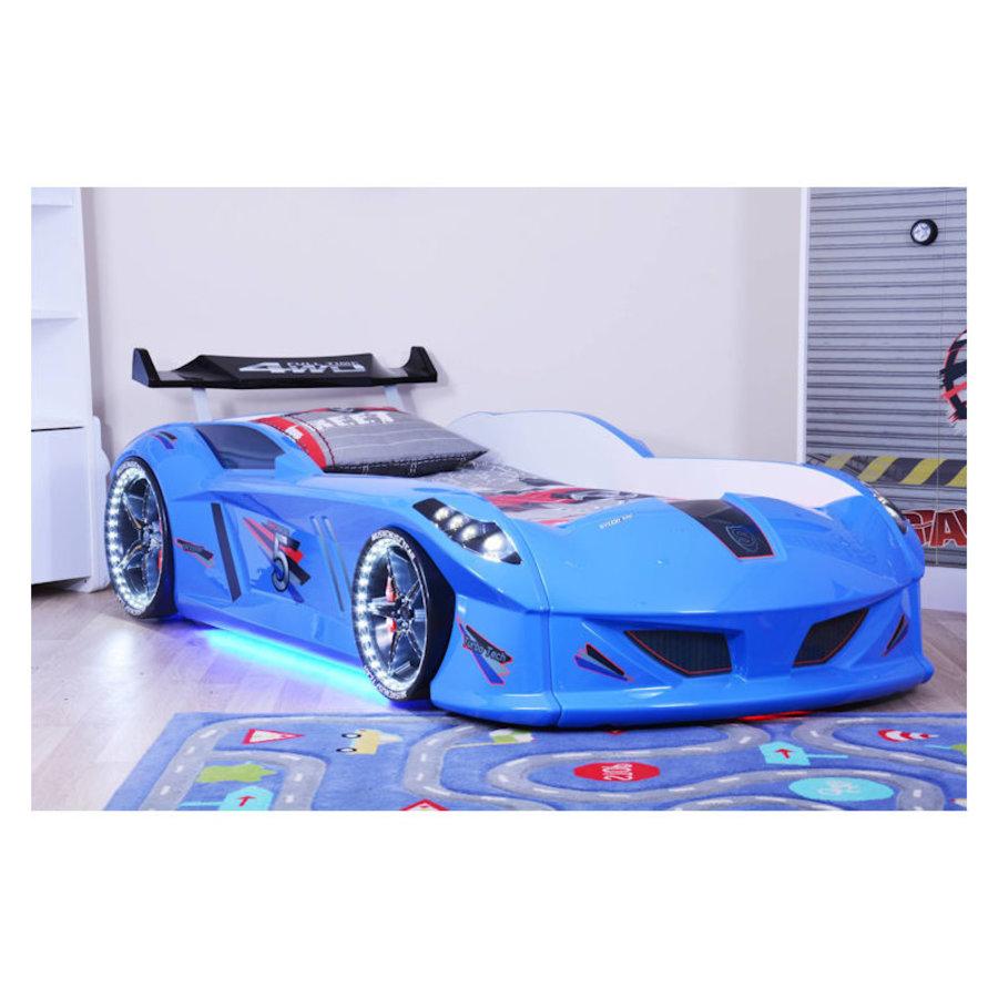 Autobed - Raceauto bed Drag Racing - blauw-2