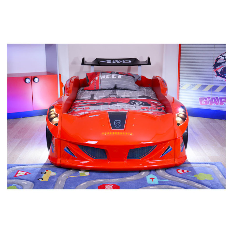 Autobed - Raceauto bed Drag Racing - rood-3