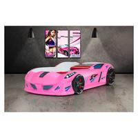 thumb-Autobed - Raceauto bed Drag Racing - roze-1
