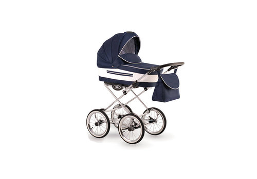 3 in1 Retro kinderwagen Eleganto