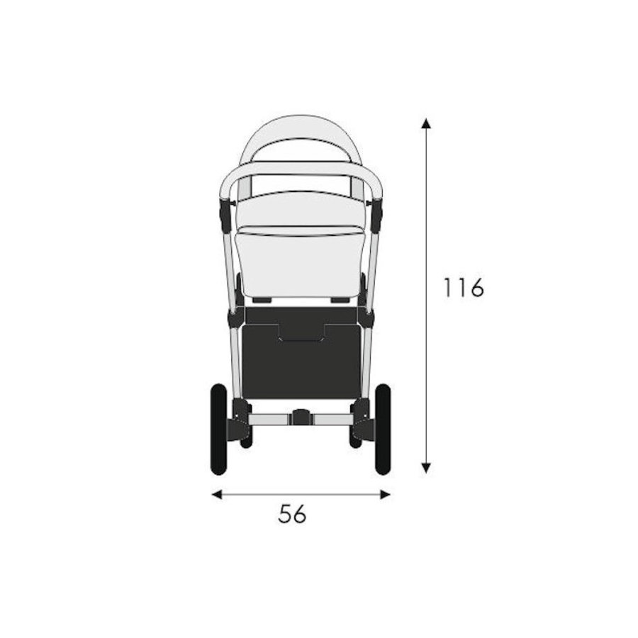 Combi kinderwagen 3 in 1 Emotion-4