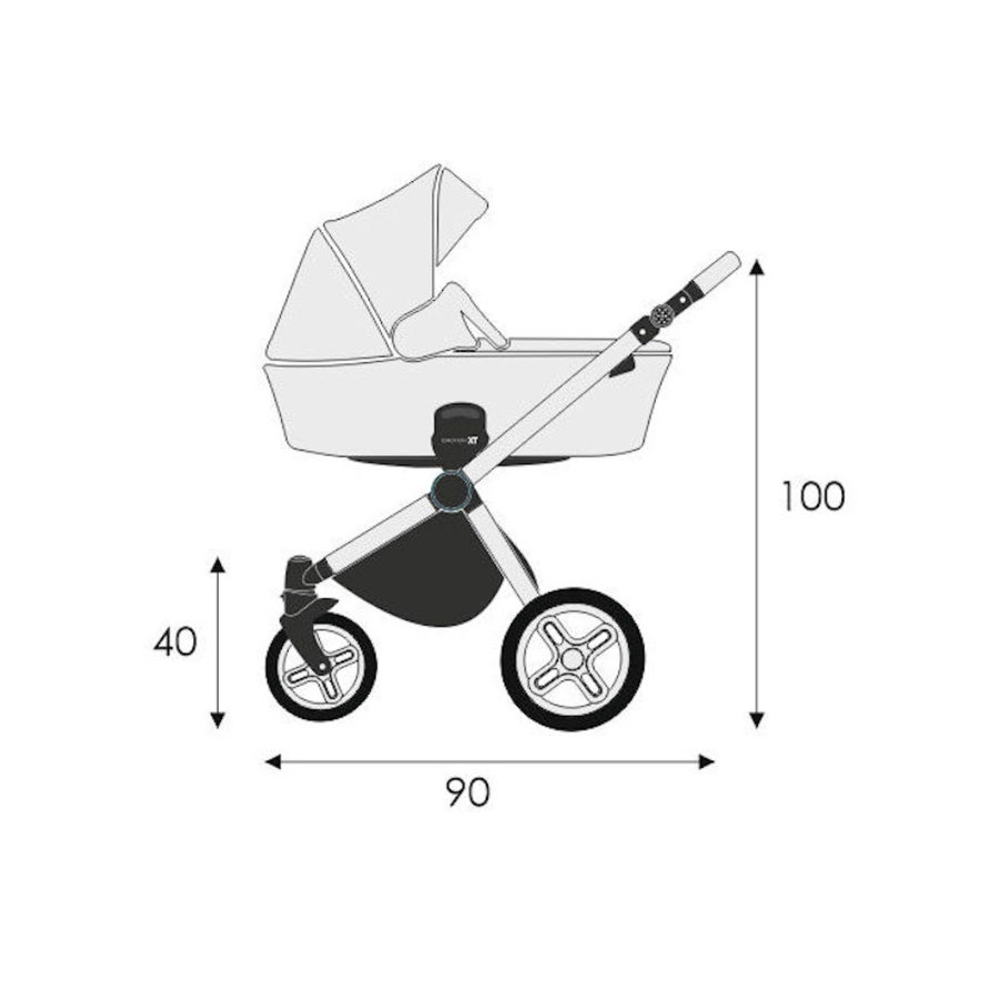 Combi kinderwagen 3 in 1 Emotion-3