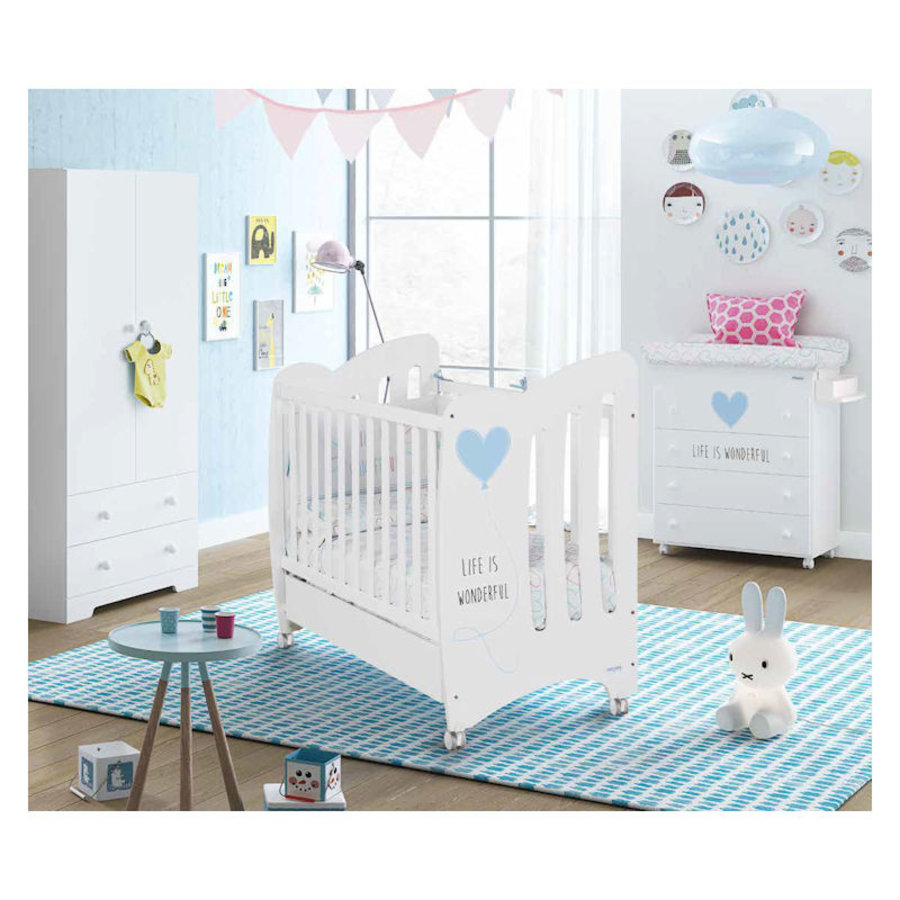 Babykamer Wonderful - blauw - 3-delig-2
