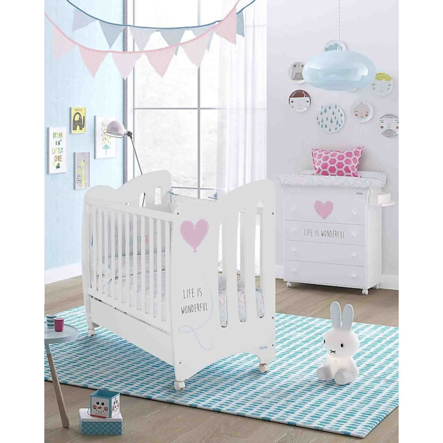 Babykamer Wonderful - roze - 2-delig-2