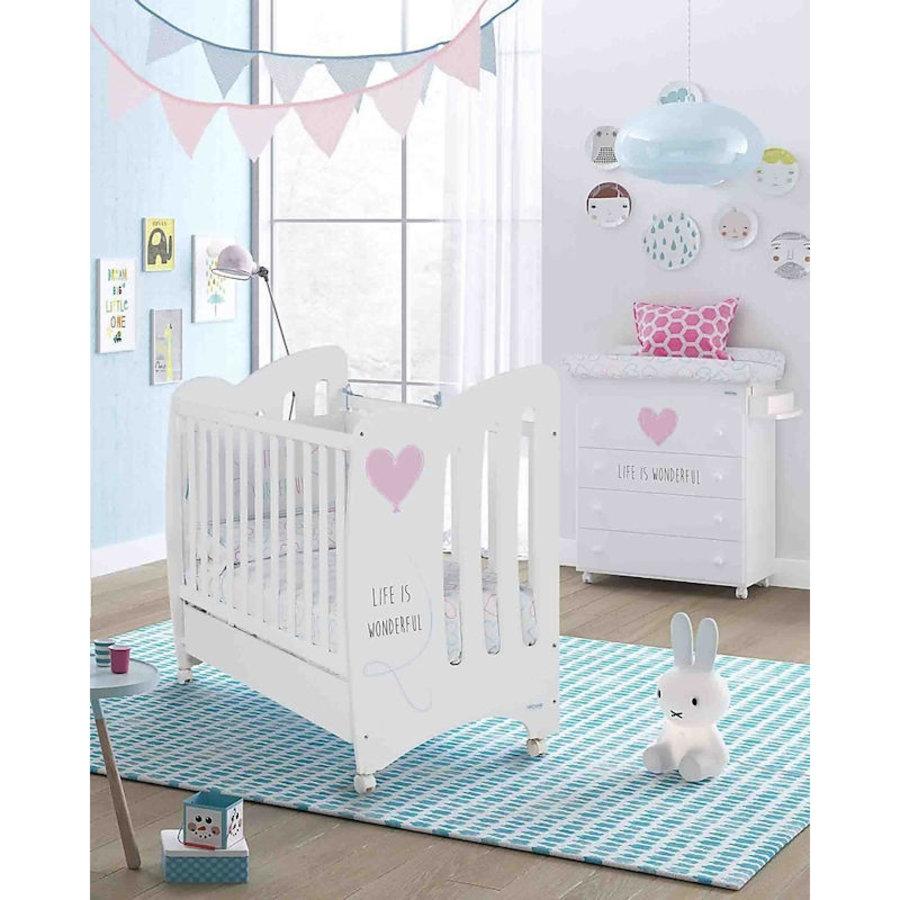 Babykamer Wonderful - roze - 3-delig-1