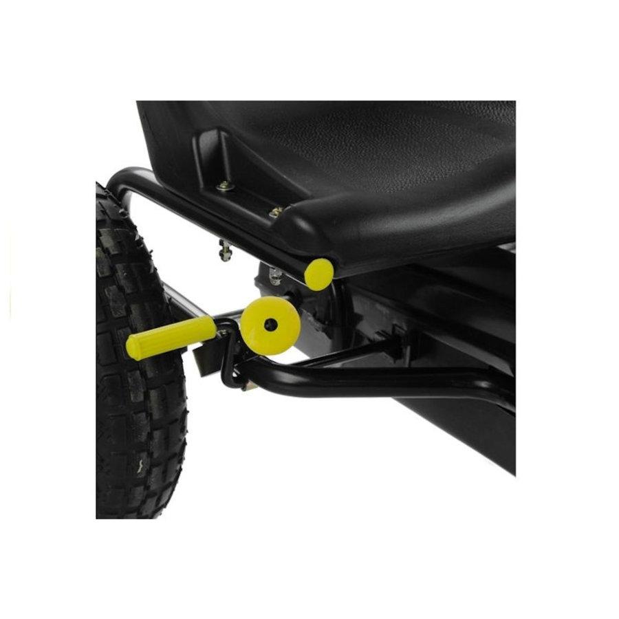 Go-Cart Racing Car met luchtbanden met handrem-5