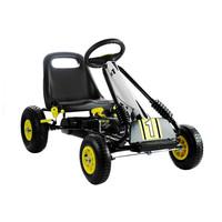 thumb-Go-Cart Racing Car met luchtbanden met handrem-1