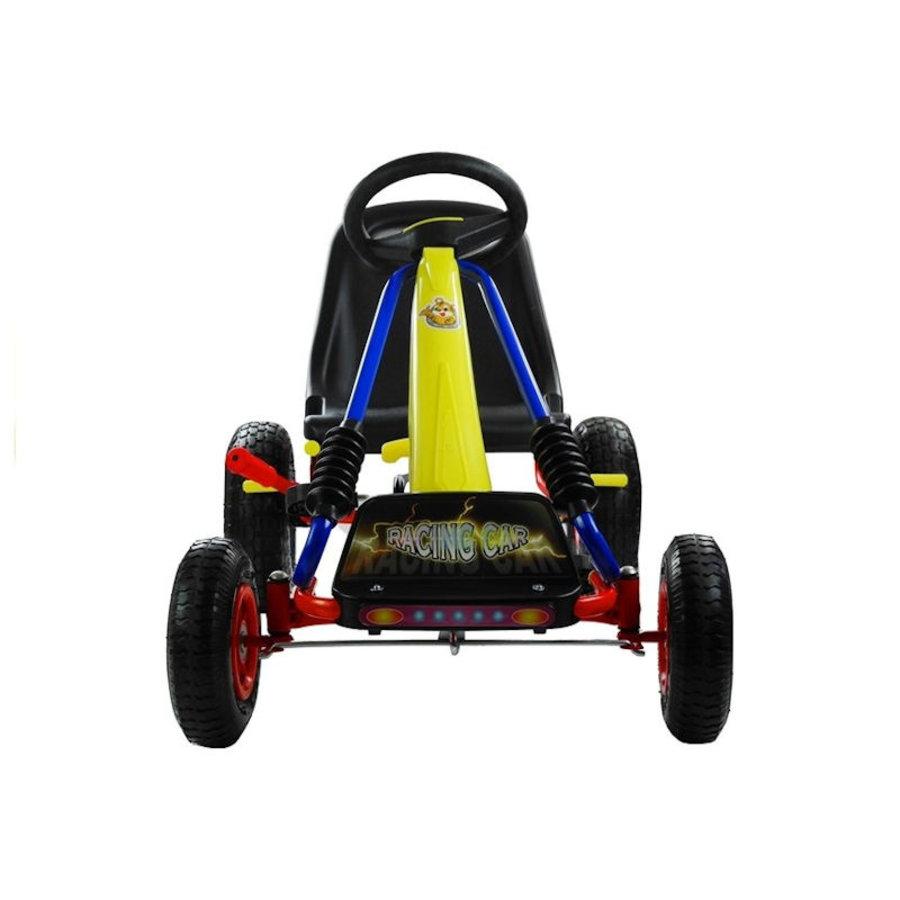 Go-Cart Racing Car met luchtbanden met handrem-3