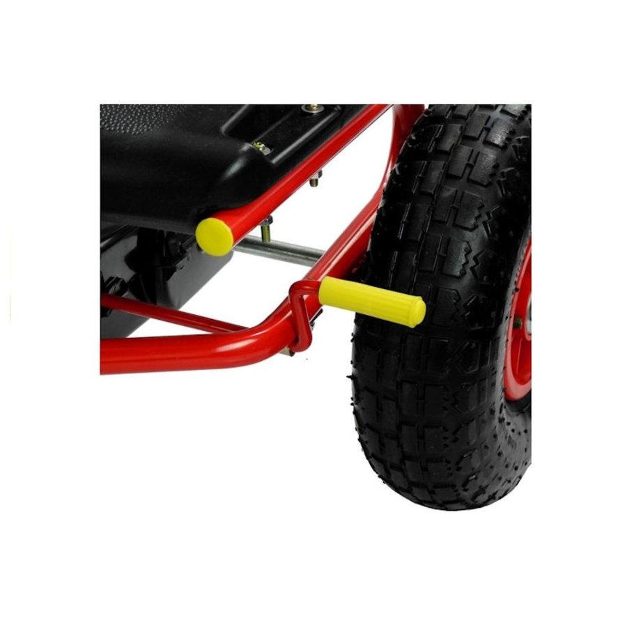 Go-Cart Racing Car met luchtbanden met handrem-6