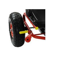 thumb-Go-Cart Racing Car met luchtbanden met handrem-7
