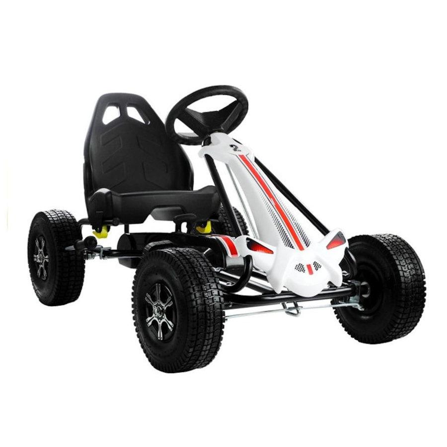 Go-Cart Monster met luchtbanden met handrem-1