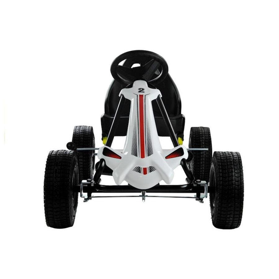 Go-Cart Monster met luchtbanden met handrem-3