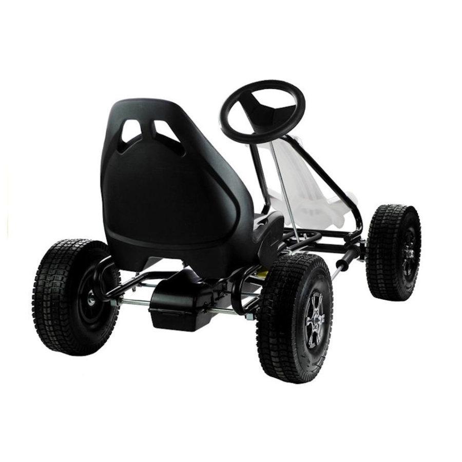 Go-Cart Monster met luchtbanden met handrem-4