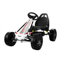 thumb-Go-Cart Monster met luchtbanden met handrem-2