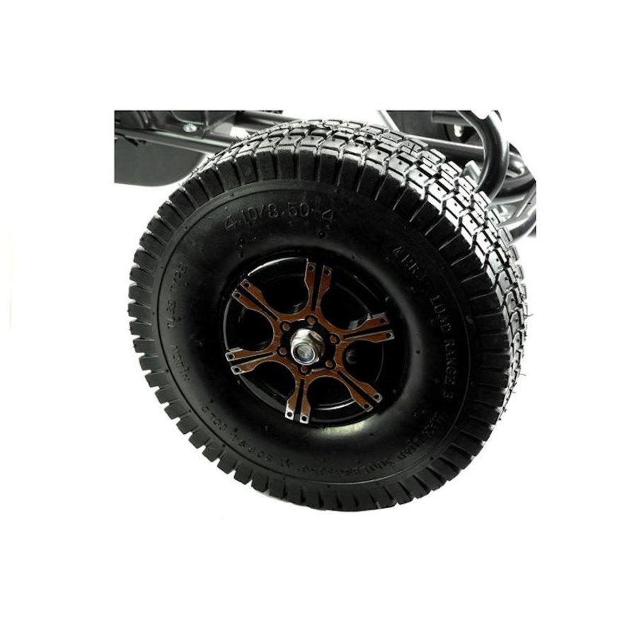Go-Cart Monster met luchtbanden met handrem-8