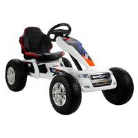 thumb-Elektrische Skelter - Go-cart Ford - wit-1