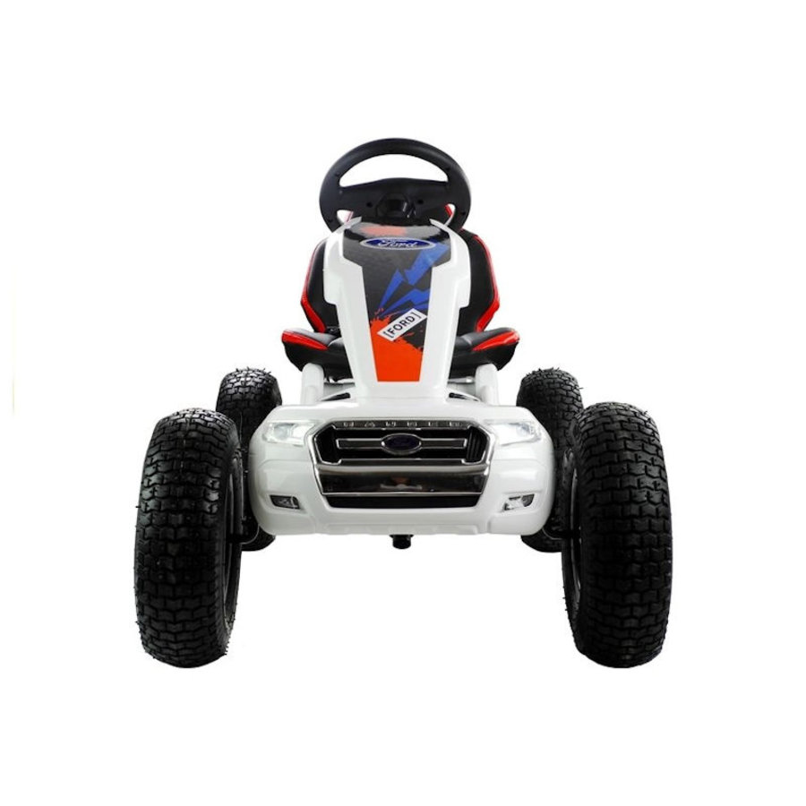 Elektrische Skelter - Go-cart Ford - wit-3