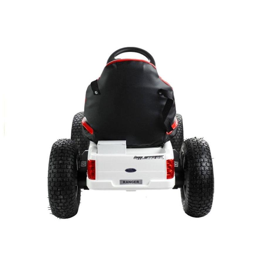 Elektrische Skelter - Go-cart Ford - wit-4