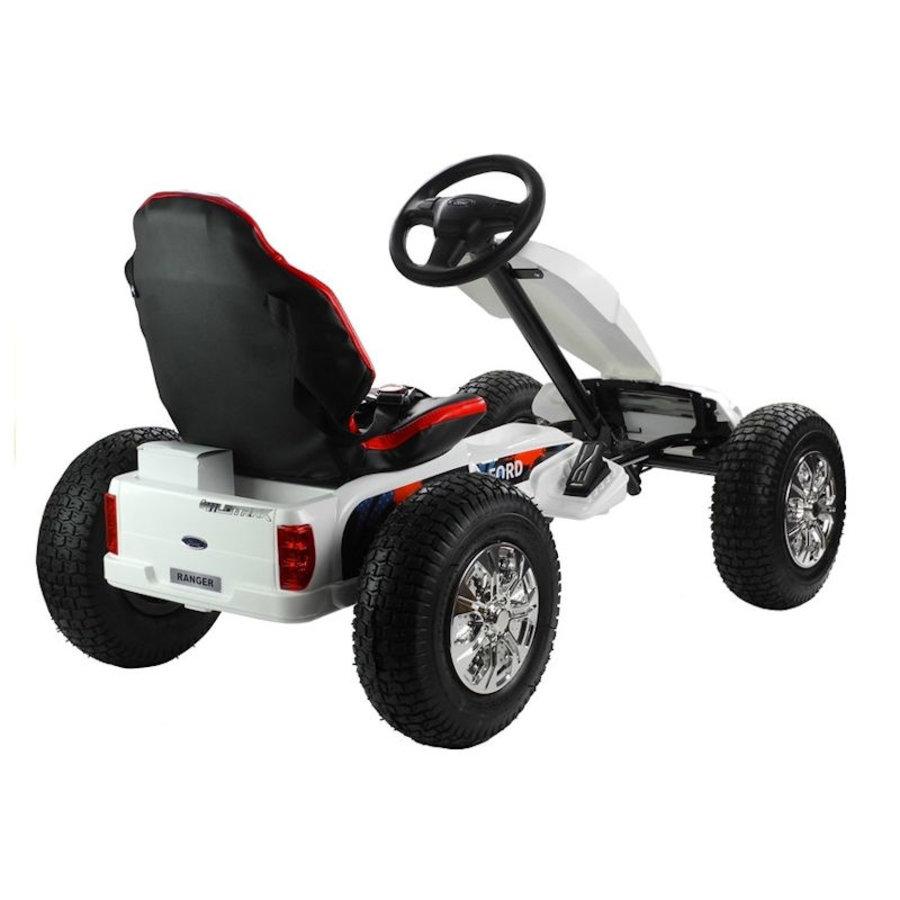 Elektrische Skelter - Go-cart Ford - wit-6