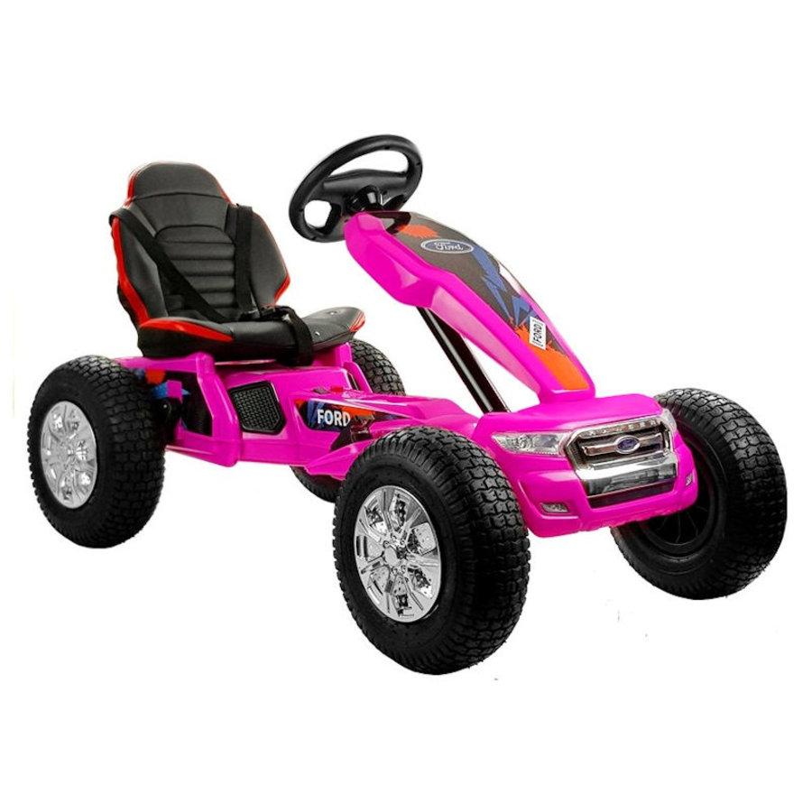 Elektrische Skelter - Go-cart Ford - roze-1