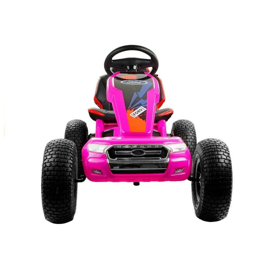 Elektrische Skelter - Go-cart Ford - roze-3