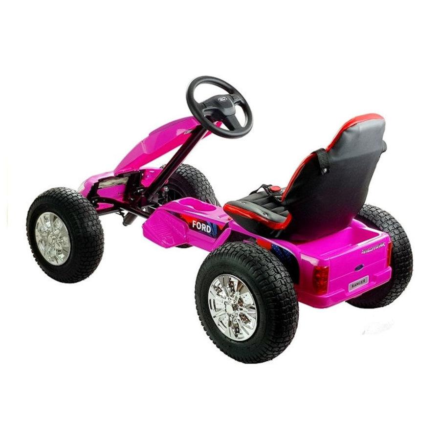 Elektrische Skelter - Go-cart Ford - roze-4