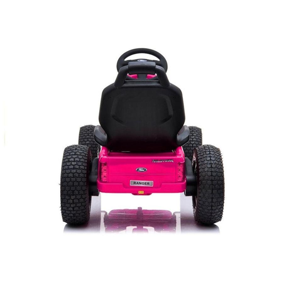 Elektrische Skelter - Go-cart Ford - roze-5