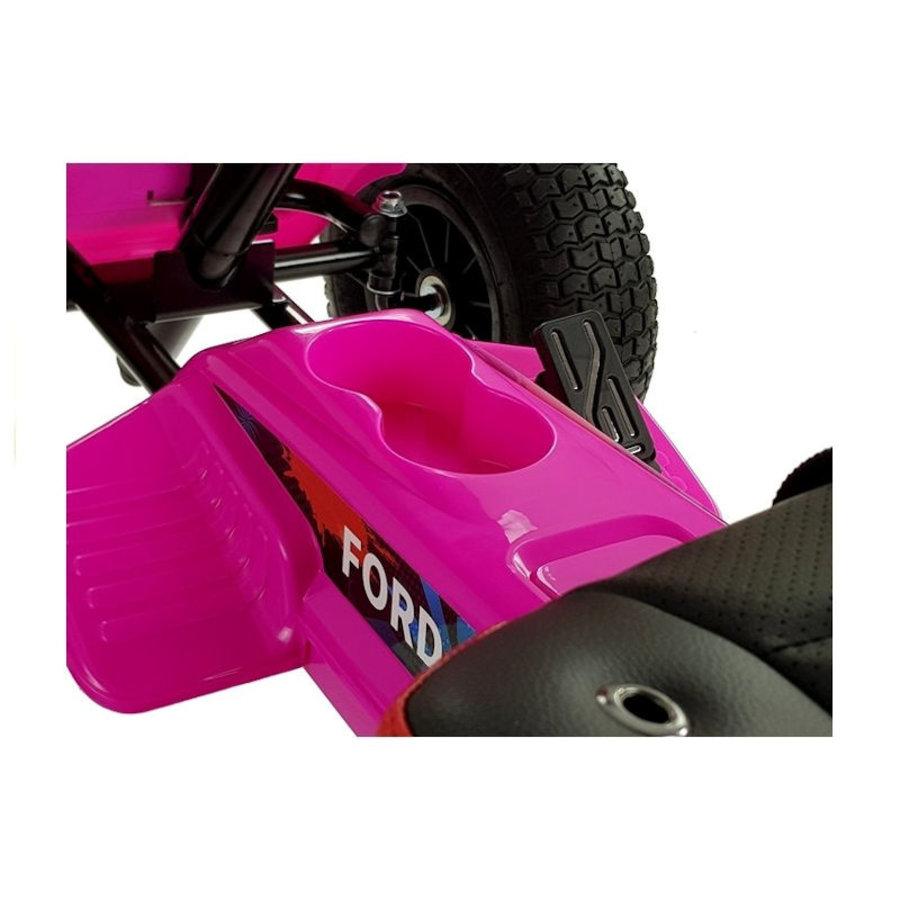 Elektrische Skelter - Go-cart Ford - roze-7