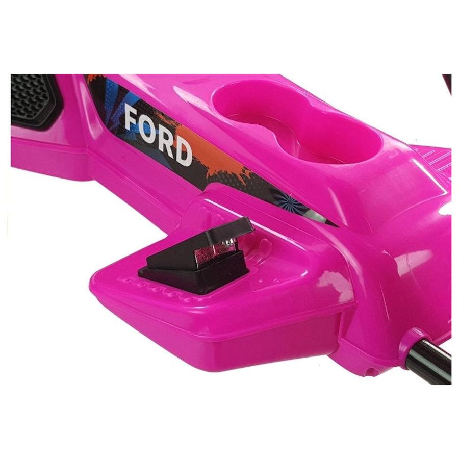 Elektrische Skelter - Go-cart Ford - roze-8