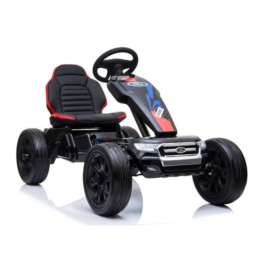 Elektrische Skelter - Go-cart Ford - zwart-1