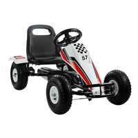 thumb-Go-Cart Race met luchtbanden met handrem-1