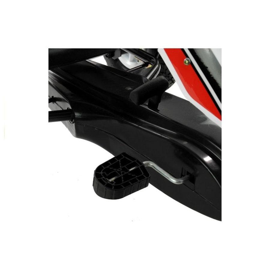 Go-Cart Race met luchtbanden met handrem-5