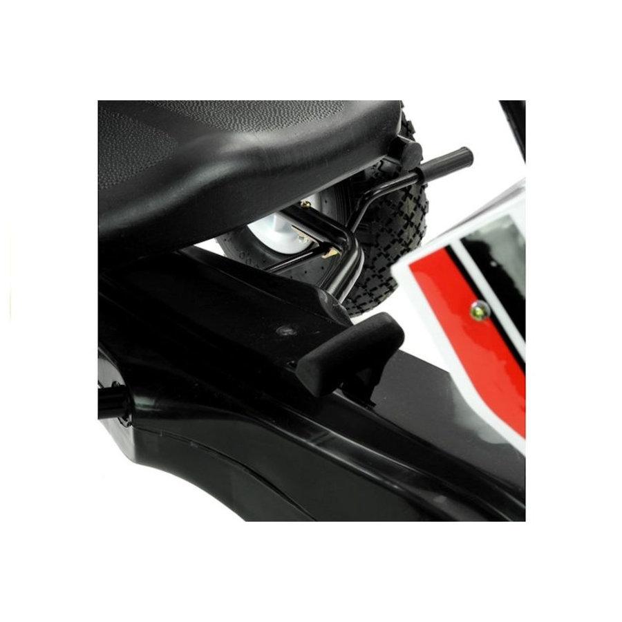 Go-Cart Race met luchtbanden met handrem-6