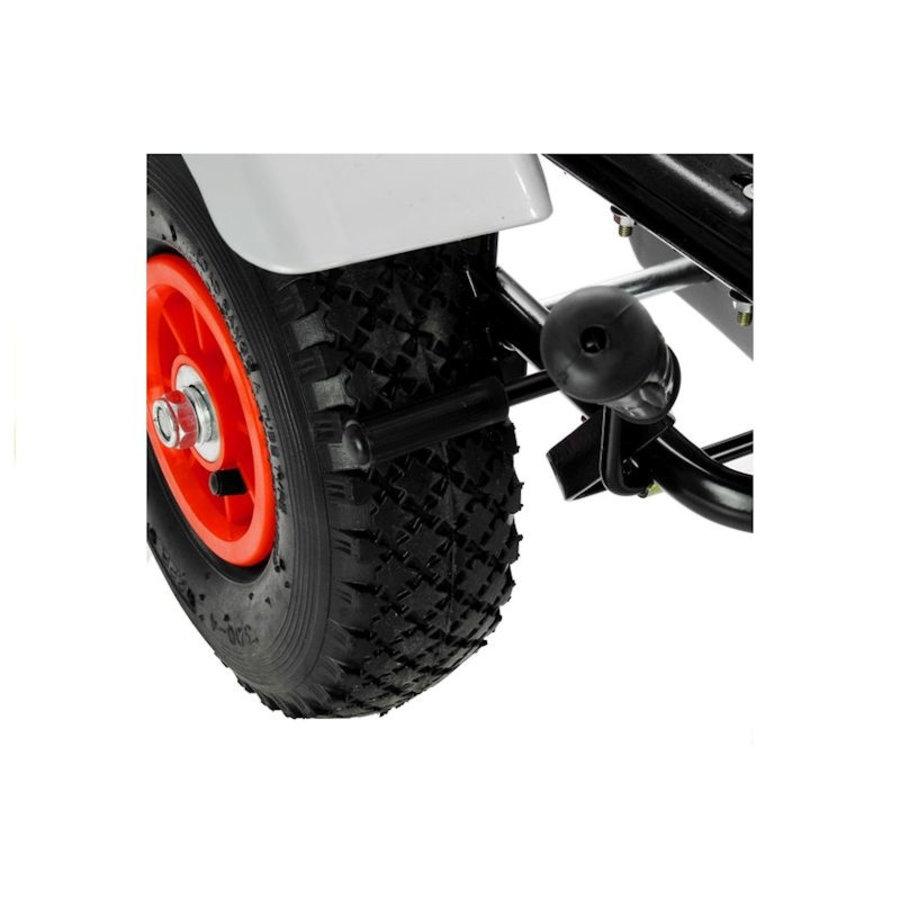 Go-Cart Race met luchtbanden met handrem-7