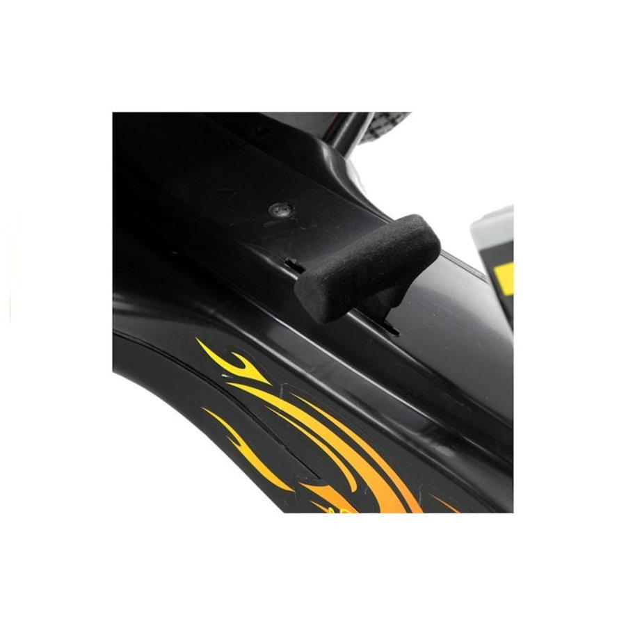 Go-Cart Race met luchtbanden met handrem-8