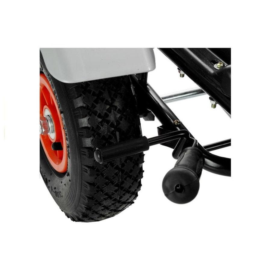 Go-Cart Race met luchtbanden met handrem-9