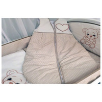 thumb-Baby slaapzak Happy Bear - beige-2