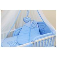 thumb-Baby slaapzak Happy Bear - blauw-1