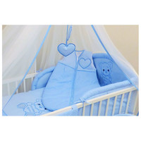 thumb-Baby slaapzak Happy Bear - blauw-2