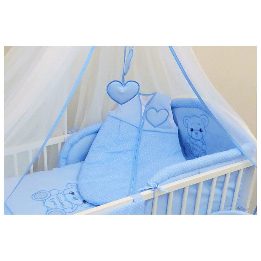 Baby slaapzak Happy Bear - blauw-2