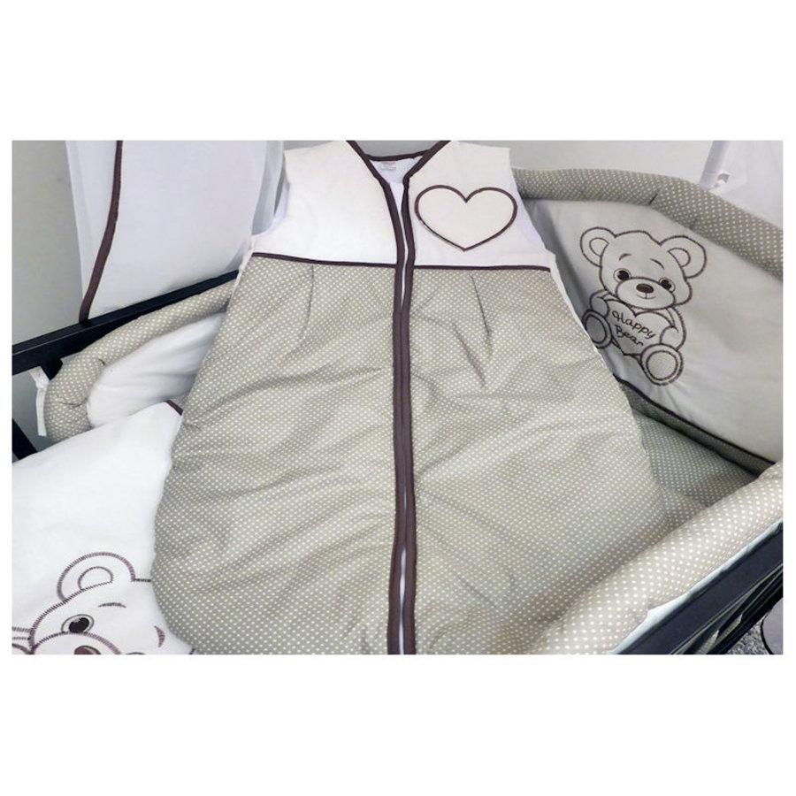 Baby slaapzak Happy Bear - bruin-1