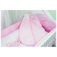thumb-Baby slaapzak Happy Bear - roze-1