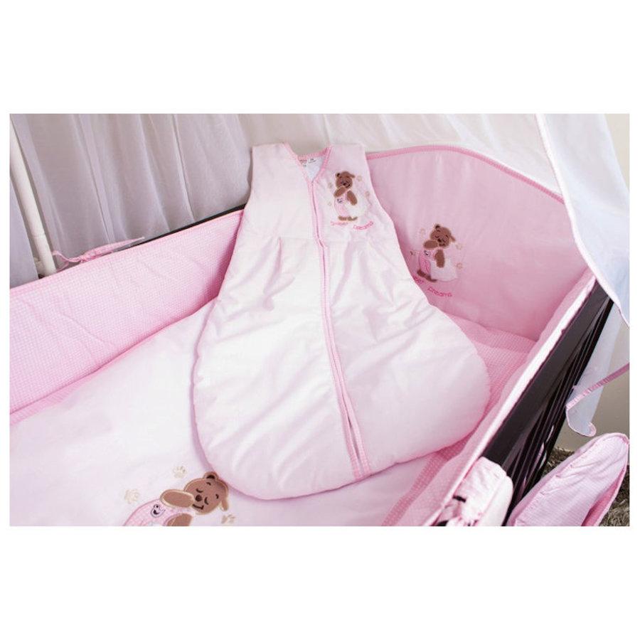 Baby slaapzak Sweat Dreams- roze-1